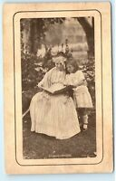 Poughkeepsie NY 1911 Vintage Postcard Grandma Granddaughter Grandaughter A48