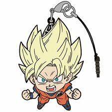 Dragon Ball Super Goku Pinch Tsumamare Phone Strap Dust Plug Saiyan Ver. Cospa