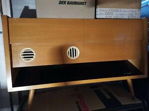 """Grundig Musiktruhe """"Majestic"""", Radio und 10-Plattenwechsler, Lampe"""