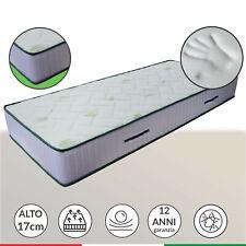 Materasso Memory foam alto 17 cm ortopedico anatomico in AirPur® - LISA