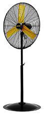 MAC-30P Pedestal Fan, Direct-Drive, High-Velocity, 3-Speed, 30-In. - Quantity 1