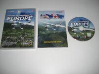 GROUND ENVIRONMENT X EUROPE Pc Add-On Flight Simulator Sim X FSX