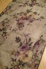 Wamsutta Purple Vintage Rose Standard Pillow Shams (2) USA Made