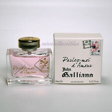 John Galliano PARLEZ MOI D'AMOUR EDT10 ml Miniature Mini perfume Bottle NIB