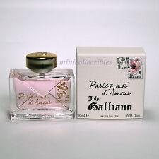 John Galliano PARLEZ MOI D'AMOUR EDT10 ml Miniature Mini perfume Bottle NIB
