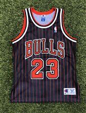 Vintage Champion 90s NBA Chicago Bulls Jersey Jordan Men's 40 Authentic Stitched