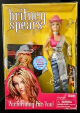 Rare Britney Spears Doll Performing For You Limited Edition New in Box