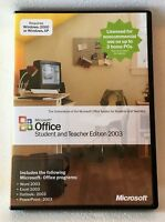 Microsoft Office Student and Teacher Edition 2003 -