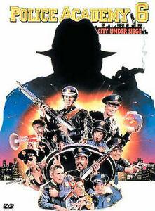 POLICE ACADEMY 6 DVD (PAL, 2012) VGC, FREE POST