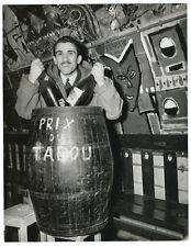 Photo 16x21 / the Writer Robert Jacques Club Existentialiste Tabou 1948 Paris