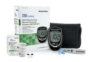 Blood Glucose Meter Sugar Monitoring Test Diabetes USA Glucometer Starter Kit