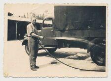 Foto Frankreich Melun Kfz-LKW  Mercedes Diesel 1942  (3204)
