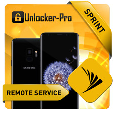 INSTANT Remote Unlock SPRINT Samsung S9 S9+ G960U G965U