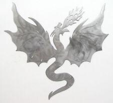 Mythological Metal Fire Breathing Dragon Flying Fantasy Plasma Cut