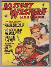 10 Story Western Magazine April 1949 Pulp - Gardner Fox of DC Comics