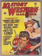 10 Story Western Magazine April 1949 Pulp - Gardner Fox of DC Comics