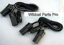 12V DUAL Cigarette Lighter Extension Power Cord for Boats RVs