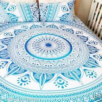 Indian Queen Size Bedding Set Hippie Bohemian Wall Hanging Tapestry Bed Sheet