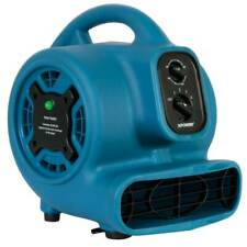 Xpower P-260Nt 1/5 Hp 4-Speed Corded Freshen Aire Air Mover w/ Ionizer