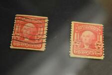 2c GEORGE WASHINGTON SCOTT # 322 PERF 12 VERTICALLY 1908 USED