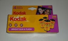 Kodak Gold 4 Roll Bright Sun Flash 96 Exposures 35mm Color 200 Film 01/08 dms