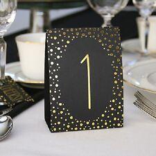 Hortense B Hewitt 35084 Polka Dot Table Number Tents Gold