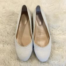 Tod's Women's Size 41 Pony Hair Wedge Ballet Flats