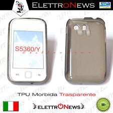 Tpu nero/trasparente Samsung Galaxy S5360 Y