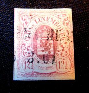LUXEMBOURG Stamp Scott 8 USED CV160