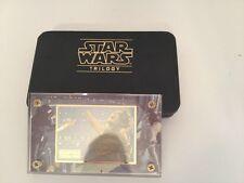 STAR WARS 24K GOLD CARD W/CASE EMPIRE STRIKES BACK 173/1,000 RARE Collectible!!