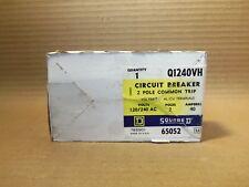 NEW IN BOX SQUARE D Q1 Q1240VH 2 POLE 40 AMP Circuit Breaker