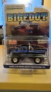 Greenlight & Mijo - (CHROME EDITION) The Original Monster Truck Bigfoot