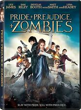 Pride and Prejudice and Zombies (DVD, 2016) - Brand New!! Free Shipping!!