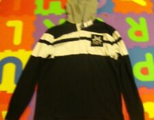 Polo Ralph Lauren striped rugby Hoodie Large 0406795