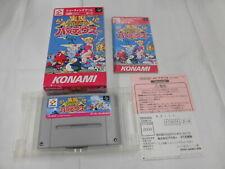 X4582 Nintendo Super Famicom Jikkyo Oshaberi Parodius Japan SFC SNES w/box