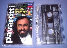 PAVAROTTI IN HYDE PARK cassette tape album T4284