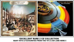 ELO - A Very Best Greatest Hits Compilation 2 RARE 70's 80's Pop CD's Jeff Lynne