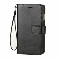 Double Flip PU Leather Card Holder Wallet Case Cover for Apple iPhone 7 / 7 Plus