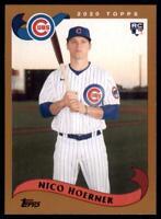 2020 Archives Base #240 Nico Hoerner - Chicago Cubs RC