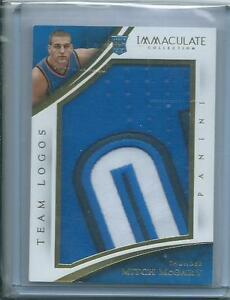 2014-15 Panini Immaculate MITCH McGARY RC Patch Team Logos /16