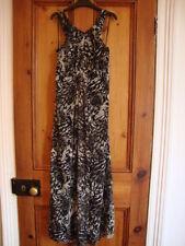 Animal Print Full Length Maxi Dresses TU