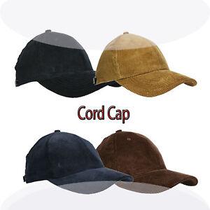 CORD CAP  BASEBALL CAPS BASECAP CAPY KAPPE Top..Preis TiP!