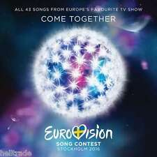 EUROVISION SONG CONTEST - STOCKHOLM 2016 * NEW 2CD'S * NEU *