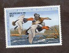 RW54 Federal Duck Stamp. Single. MNH. OG.  #02 RW54mnh