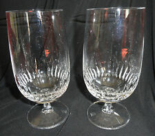 Set of Two Crystal Goblets by Bavaria