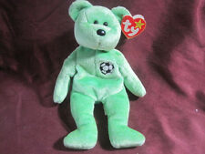 1998 FIFA WORLD CUP TY BEANIE BABY MASCOT KICKS DOB AUGUST 16, 1998