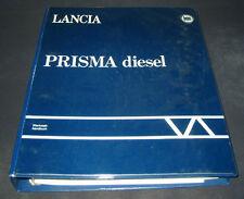 Werkstatthandbuch Lancia Prisma Diesel Motor Getriebe Lenkung Elektrik 12/1985
