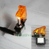 2x Illuminated Switch SPST 12V 20A Car LED Light ON-OFF Toggle Indicator Switch