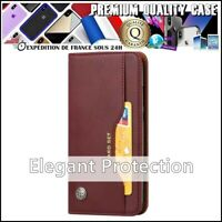 Etui Coque Housse CARD Cuir PU Leather Wallet Case XIAOMI Redmi Note 5 Pro