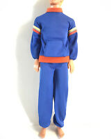 Vintage Ken Doll Outfit Fashion Favorites #1404 From 1978 Sweat Pants Shirt Set